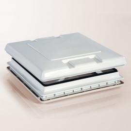 Lanterneau Vent 50X50 Blanc