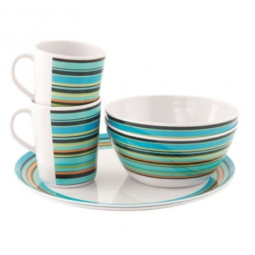 Java Melamine Set 2 Persons OUTWELL