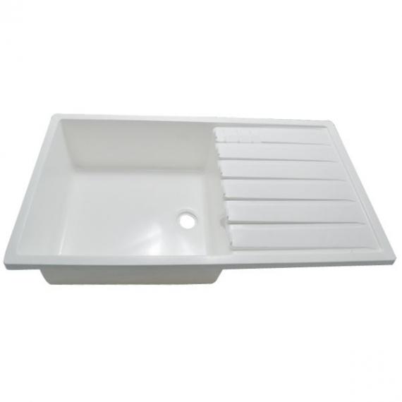 Évier plastique blanc AECAMP
